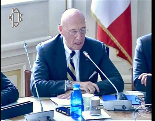 Padania Acque  Claudio Bodini in audizione  alla Commissione Ambiente della Camera