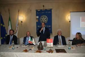 Incontro del Rotary Club Cremasco San Marco  il tennis in carrozzina