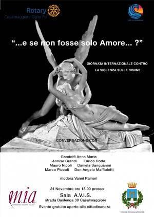 E se non fosse solo amore !!! Convegno associazione M.I.A. a Casalmaggiore 24 novembre
