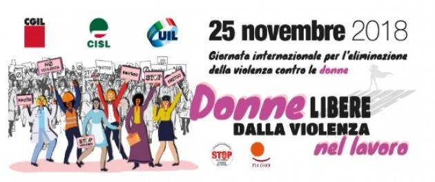 Non basta essere solidali il 25 novembre . L'appello dei dirigenti maschi di Cgil-Cisl-Uil.