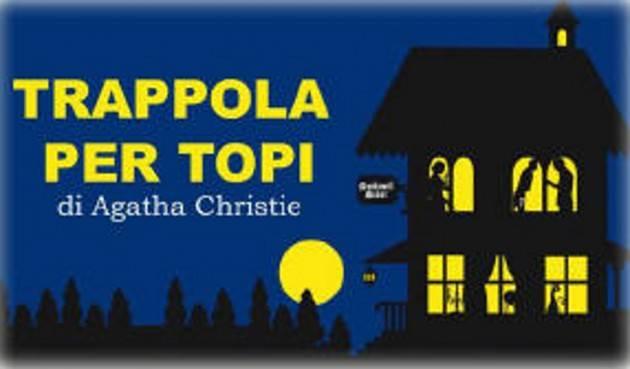 AccaddeOggi  #25novembre 1952 - L'opera teatrale di Agatha Christie Trappola per topi debutta all'Ambassadors Theatre di Londra