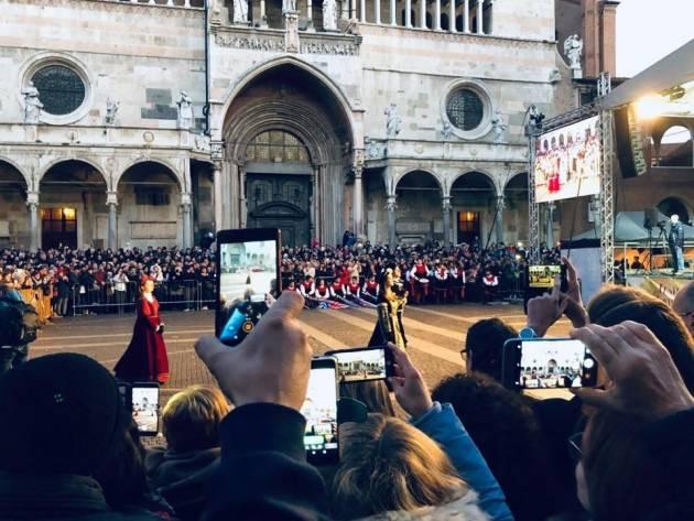 (Video) Cremona La Festa del Torrone 2018 chiude con il botto. Soddisfazione del Sindaco Gianluca Galimberti