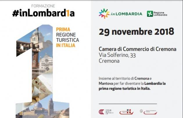Formazione #inLombard1a, in programma giovedì 29 novembre 2018, a Cremona.
