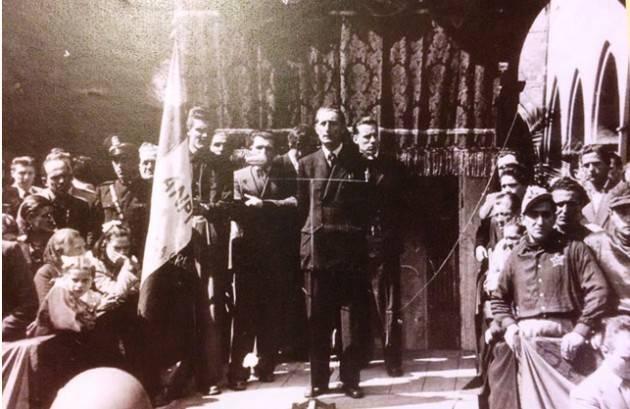 L'ECOSTORIA GINO ROSSINI  UN PROFILO UMANO (1° parte) , UNA TESTIMONIANZA CIVILE  DA SOTTRARRE ALL'OBLIO di Giuseppe Azzoni