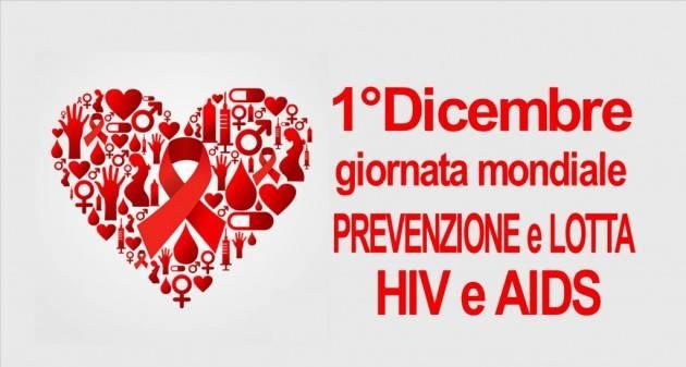 Primo dicembre giornata di Lotta HIV/AIDS in Italia a cura di LILA