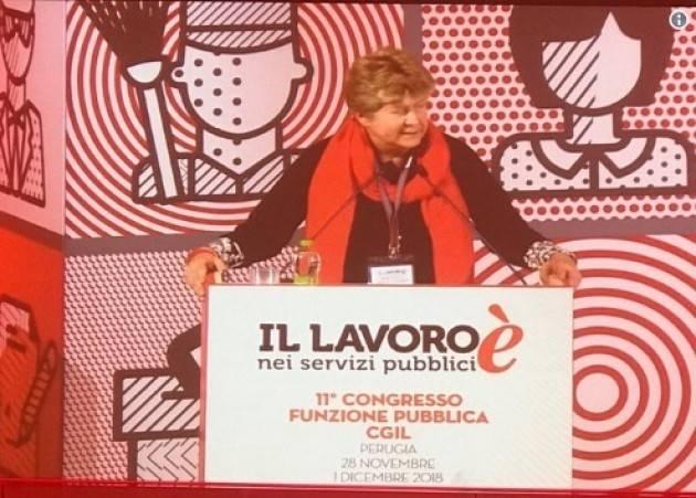 Cgil  Camusso: nel decreto sicurezza due ferite gravissime di Fabrizio Ricci