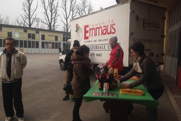 EMMAUS È PER L'ACCOGLIENZA, CONTRO OGNI DISCRIMINAZIONE Aderisce alla manifestazione del 15 dicembre