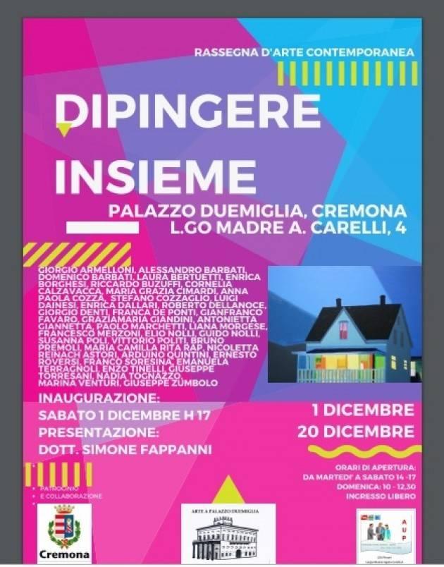AuP San Bernardo Cremona Collettiva di 35 artisti dalla provincia e fuori provincia fino al 20 dicembre
