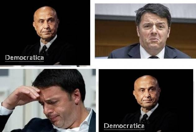 Da Democratica : Minniti si ritira, ipotesi scissione per Renzi