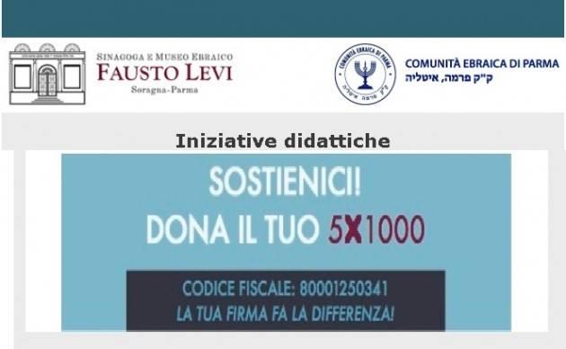 Iniziative didattiche 2018-1019 della Sinagoga e Museo Ebraico Fausto Levi di Soragna (PR)
