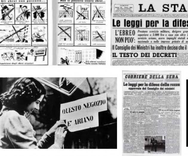 AISE LE LEGGI ANTIEBRAICHE DEL 1938: UNA FERITA ANCORA APERTA . CONVEGNO ALLA DANTE DI ROMA