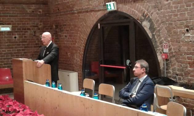 (Video) Con l'acqua non si scherza  Claudio  Bodini Presidente Padania Acque spa  contrario alla proposta di legge del M5S