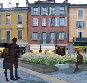 Crema Piazza Garibaldi:  pavimentazione approvata.  Arredo urbano e verde in via di definizione