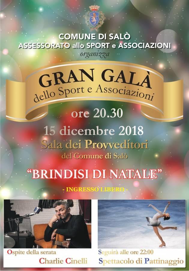 Il Gran Galà 2018 dello Sport e delle Associazioni a Salò