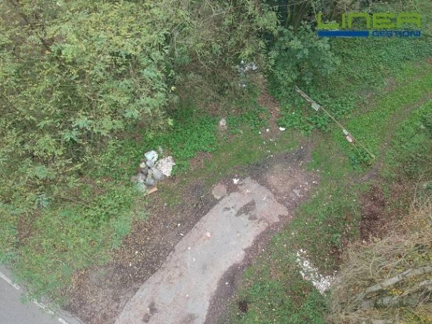 Cremona MONITORAGGIO RIFIUTI ABBANDONATI CON L'UTILIZZO DI UN DRONE