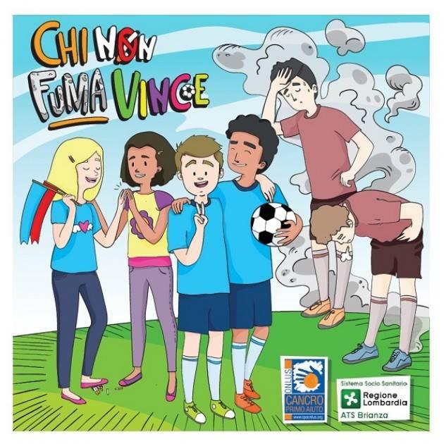 'Chi non fuma vince', il fumetto che insegna a star lontani dalle sigarette