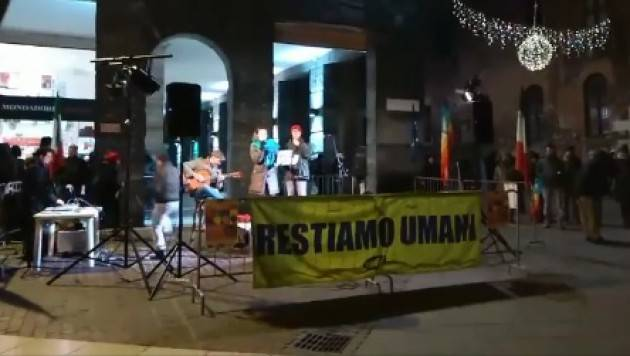 (Video) Restare Umani . Più di mille  alla manifestazione indetta dalla Tavola della Pace di Cremona del 15 dicembre 2018