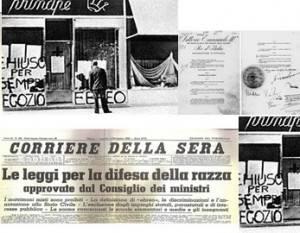 L'ECOSTORIA NOTE SULLE LEGGI RAZZIALI DEL 1938 di Giuseppe Azzoni