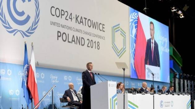 Conferenza sul clima Katowice - Polonia  di Alvaro Dellera (Crema)