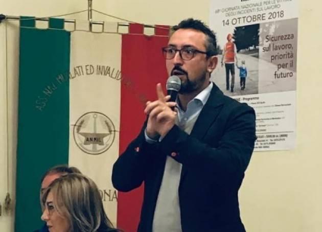 Report Matteo Piloni (PD) Dalla Regione Lombardia 18/12/2018:Infrastrutture Soresina e Casalmaggiore, Orti,Fondi per rischio idrogeologico, Agricoltura, Treno Crema-Milano