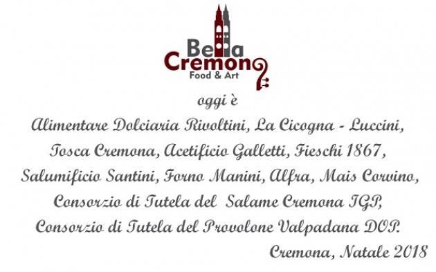 Il paniere di eccellenze del food locale Bella Cremona presentato al Comune