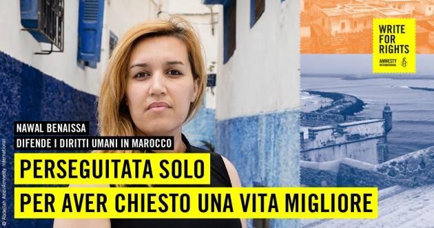 Marocco Amnesty Chiede giustizia  oer  PROCESSO D'APPELLO PER LE PROTESTE DEL MOVIMENTO HIRAK-EL RIF