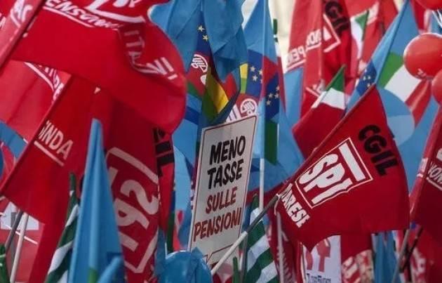 Oggi Venerdì 28 gennaio Pensionati e pensionate in piazza per protestare contro la manovra finanziaria.