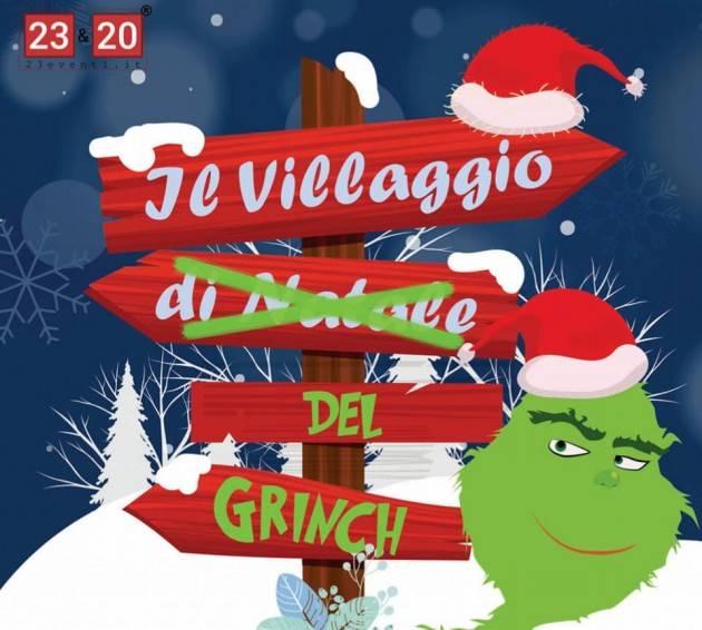 Il Grinch a Volandia, questo weekend diventa buono… Raccolta regali per la Mensa del Povero