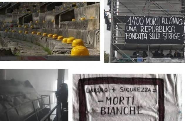 CGIL Veneto 2018, annus horribilis per le morti sul lavoro