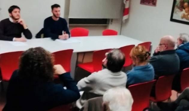 Cremona Iscritti e dirigenti PD a sostegno di Zingaretti.