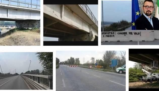 Matteo Piloni (Pd) Il ponte di Casalmaggiore è una priorità.Il Governo decida e basta  valutare !!