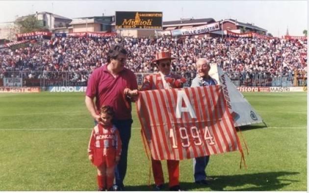 Primo maggio 1994: ultima partita allo Zini del campionato di serie A 1993-94  di Giorgio Barbieri