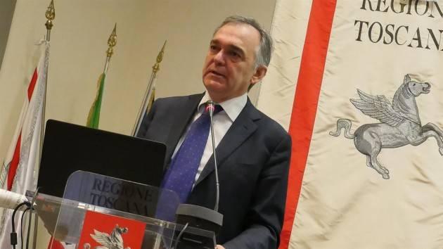 Presidente Rossi Toscana : Sicurezza, pronto ricorso a Consulta