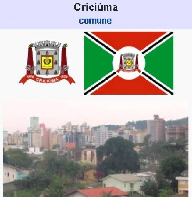 AccaddeOggi    6 gennaio  1880 – Emigranti italiani fondano la città di Criciúma, in Brasile.