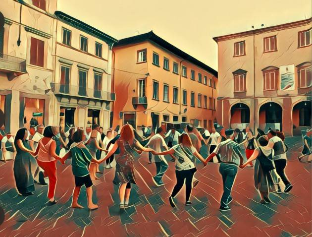 Milano Ass. La Conta  Invita corso di danze tradizionali-popolari europee, tenuto da MARIO MEINI