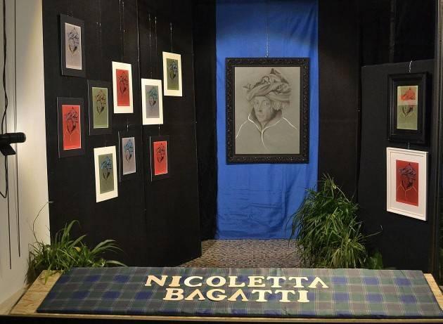 Nicoletta Bagatti e Jan Van Eyck all'Arte in vetrina di Piadena fino a gennaio