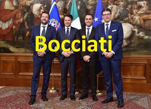 Il 'cambiamento' sbandierato da questa maggioranza è un guaio per il Paese di  Benito Fiori (Cremona)
