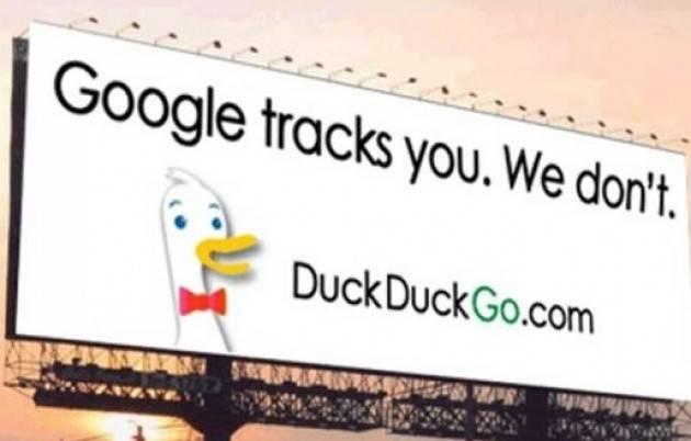 Zeus  Il motore di ricerca DuckDuckGo ,l'anti-Google, profilerebbe gli utenti