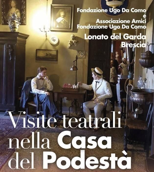 Lonato del Garda: visite teatrali alla Fondazione Ugo Da Como fino a marzo 2019.