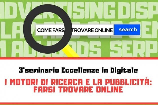 Cremona: Terzo appuntamento di 'Eccellenze in Digitale' mercoledì 23 gennaio