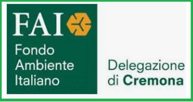 Evento 26-29  gennaio FAI I proventi spettacoli 2019 al Filo  devoluti alla Delegazione Cremonese