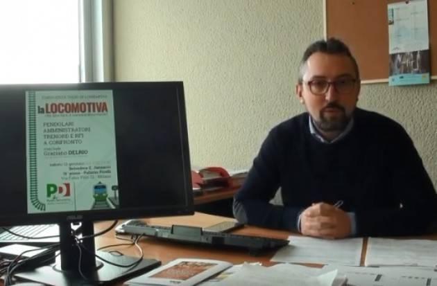 (Video) Report 12/01/2019 Matteo Piloni (PD)  Dalla Regione Lombardia :Treni, TAV, Voucher