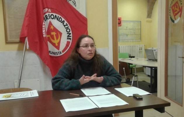 PRC- SE Cremona sulla legge di ripubblicizzazione dell'Acqua (Francesca Berardi)