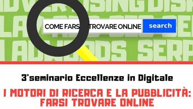 Tecno Cremona e Crema Terzo appuntamento del progetto: Eccellenze in Digitale. Farsi trovare online