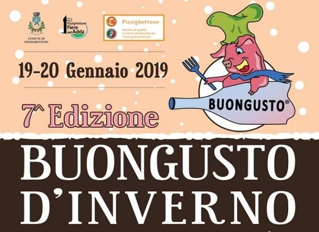 Pizzighettone: 7^ BuonGusto d'Inverno 2019 sabato 19 e domenica 20 gennaio