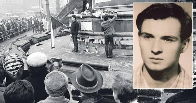 AccaddeOggi  16 gennaio 1969 – Lo studente cecoslovacco Jan Palach si dà fuoco in Piazza San Venceslao a Praga
