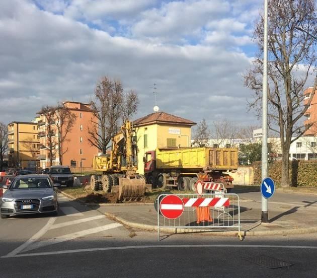 Cremona: iniziati i lavori per ripristinare il doppio senso in via dell'Annona