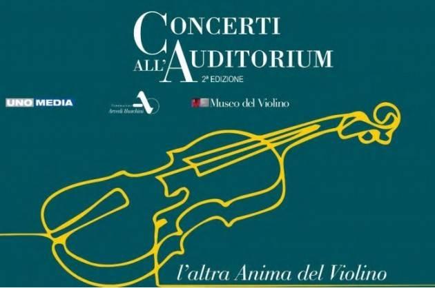 MDV Cremona Rassegna Concerti all'Auditorium, (Giovanni Arvedi)  evento 2 marzo