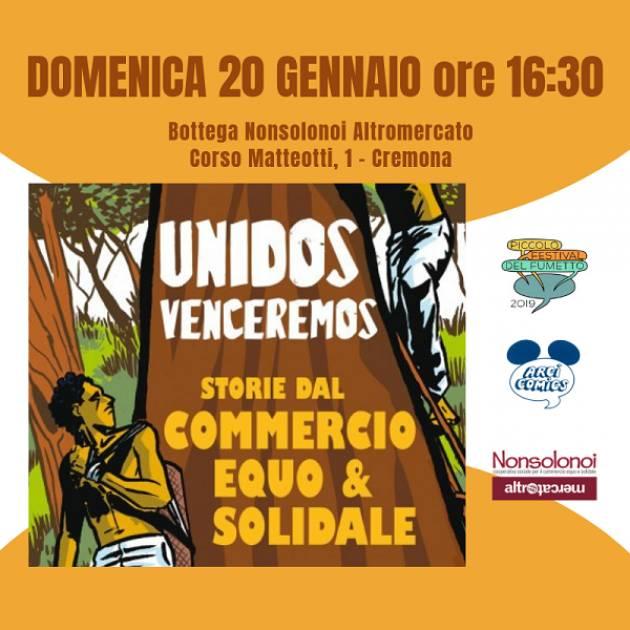 Cremona Domenica 20 Gennaio alle ore 16:30 Presentazione libro a fumetti 'Unidos Venceremos'.