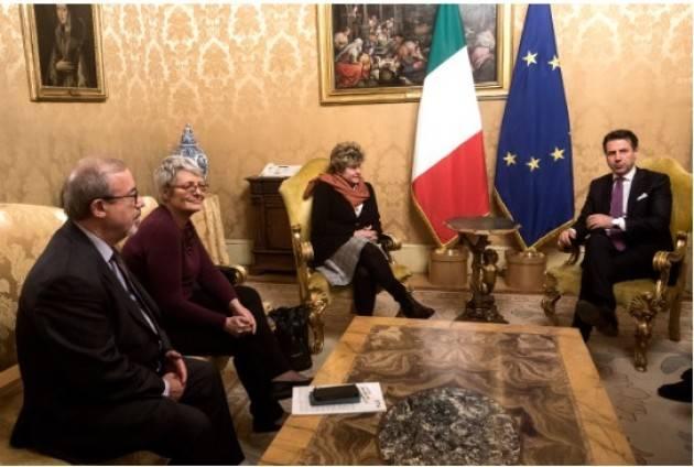 Cgil-Cisl-Uil Dopo incontro con Conte  confermano manifestazione 9 febbraio